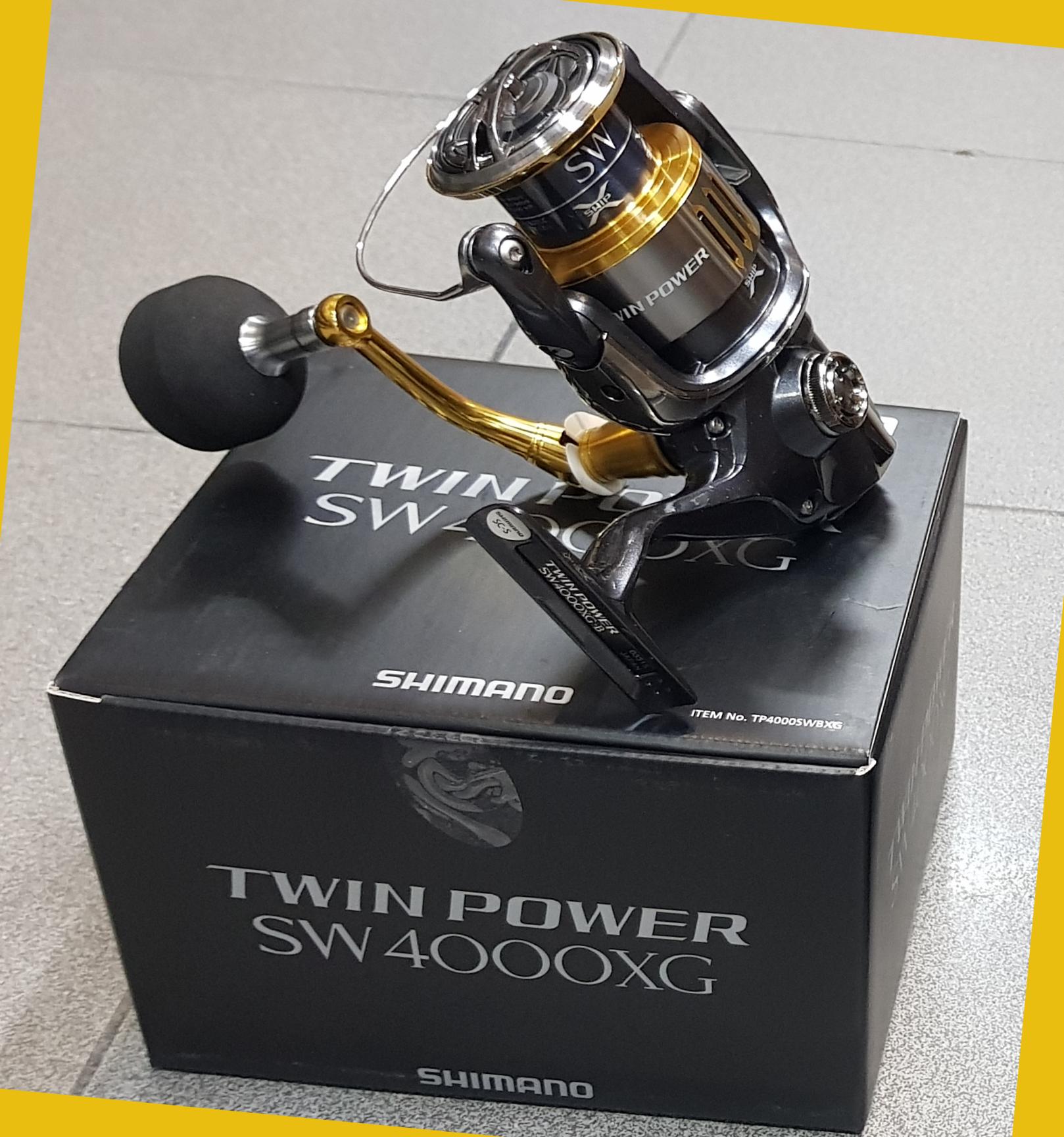 Twin Power Sw 4000 Xg Pesca Barrento