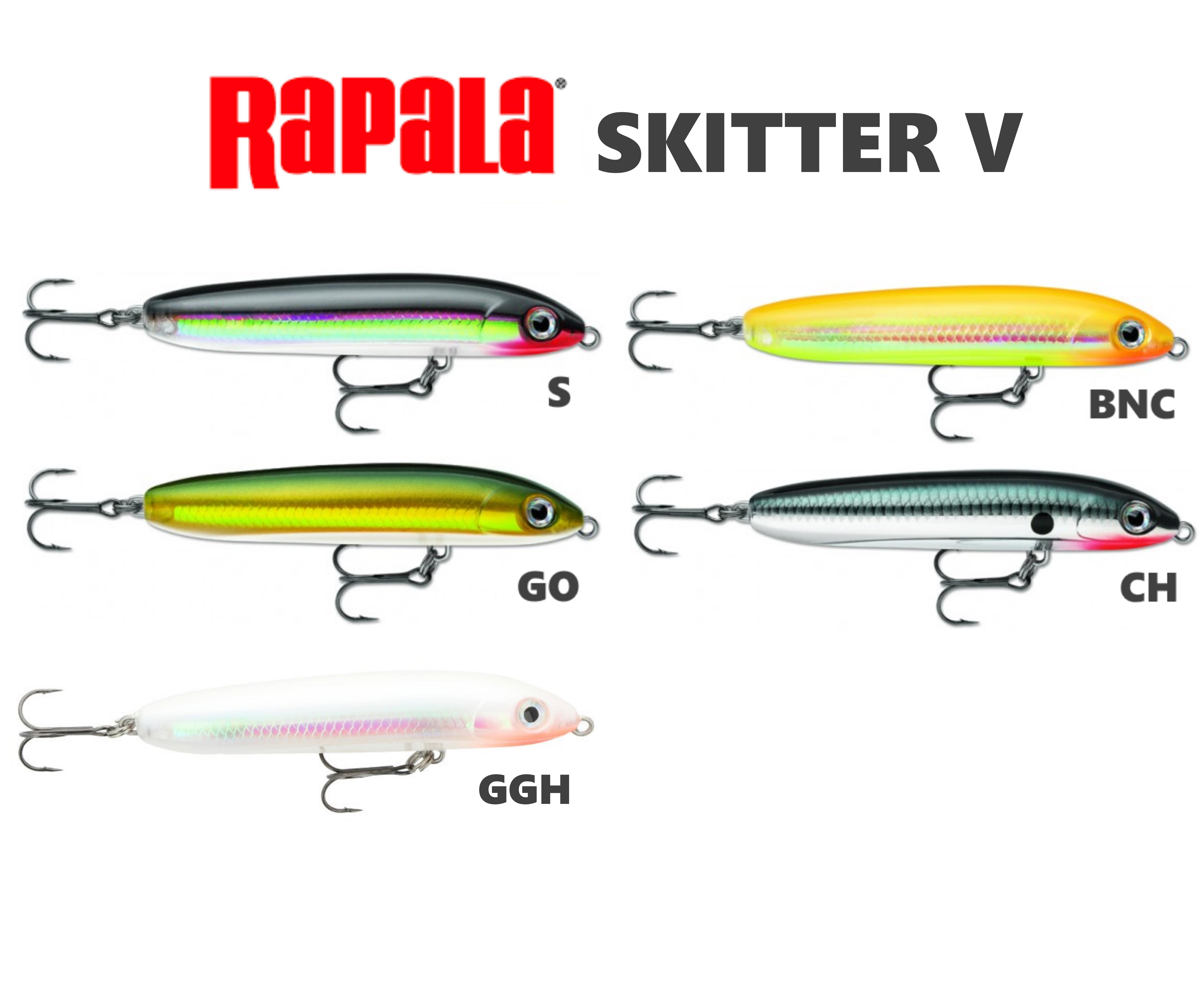 Rapala Skitter V Pesca Barrento