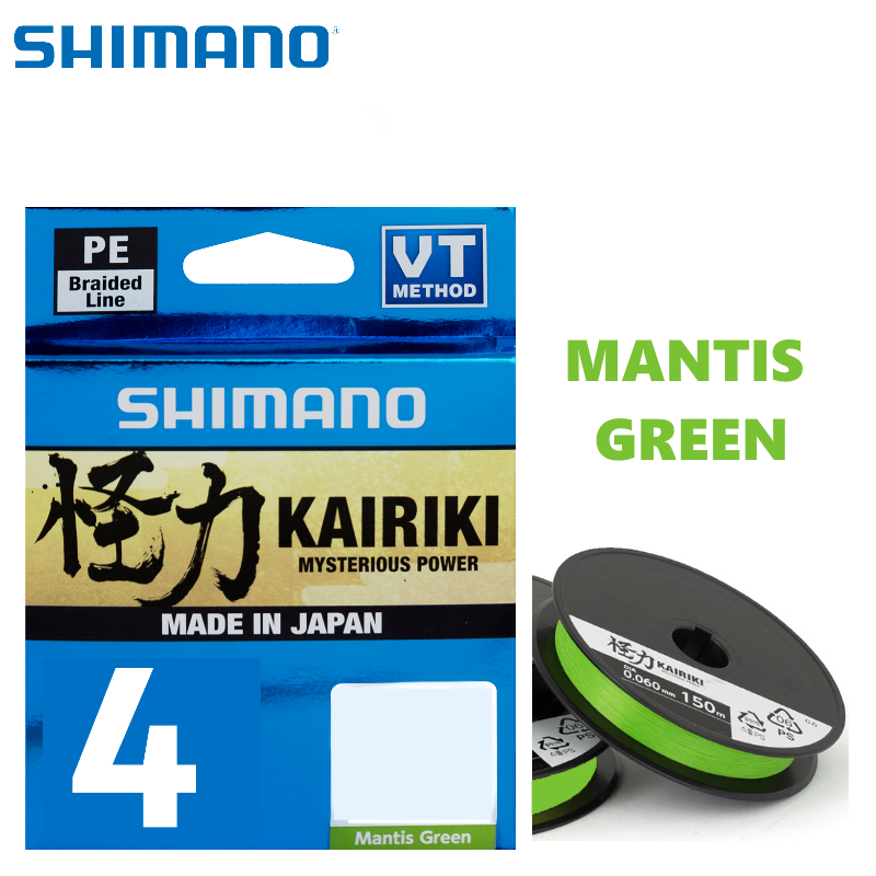Shimano Kairiki 4 Linhas Pesca Barrento